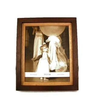 "Elegance 8x10"" Two-Tone Wood Photo Frame"