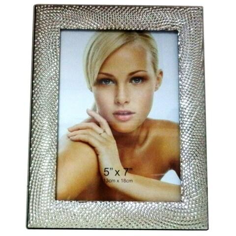 "Elegance Textured Photo Frame 5 x 7"""