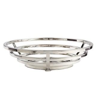 """Elegance Round Basket - 12 """" W x 3.25"""" H"""