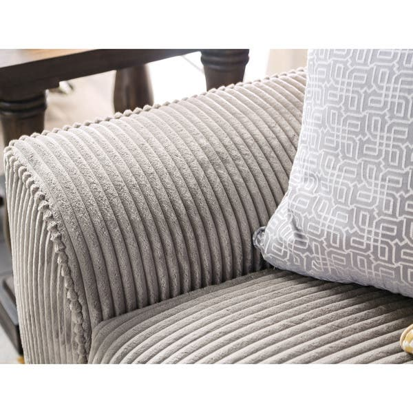 Sensational Shop Bedford Contemporary Corduroy Loveseat By Foa On Sale Pabps2019 Chair Design Images Pabps2019Com