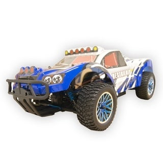 ALEKO 4WD RC 2.4Ghz Nitro Powered Off-Road Truck 1/10 Scale (2 options available)