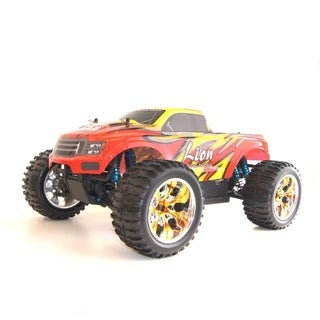 ALEKO LiPo Powered Brushless Monster Truck 1/10 Scale 4WD RC 2.4GHz