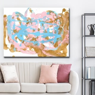 Ready2HangArt 'Plie' Abstract Canvas Wall Art