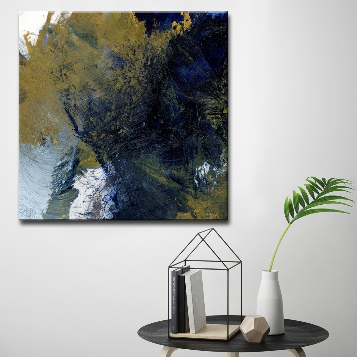 Chaos Abstract Canvas Wall Décor By Karen Moehr On Sale Overstock 20667045
