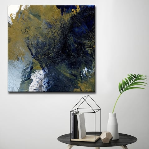 Chaos' Abstract Canvas Wall Décor by Karen Moehr