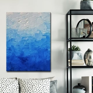 Ready2HangArt 'Bluespection' Canvas Wall Decor