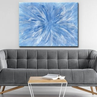 Ready2HangArt 'Snowflake' Abstract Canvas Wall Art