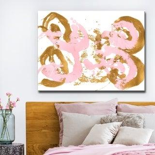 Ready2HangArt 'Ballerina' Abstract Canvas Wall Art