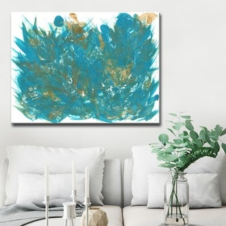 Ready2HangArt 'Feathers' Abstract Canvas Wall Art