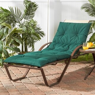 Greendale Home Fashions Outdoor Chaise Lounge Pad