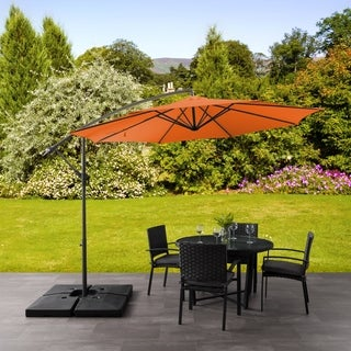 North Bend Offset Patio Umbrella by Havenside Home