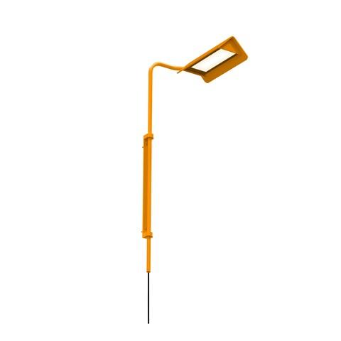 Sonneman Lighting Morii 1-light Satin Orange LED Right Wall Lamp, Satin Orange Shade