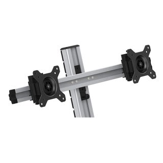 Rocelco Dual Monitor Arm for EFD - Silver
