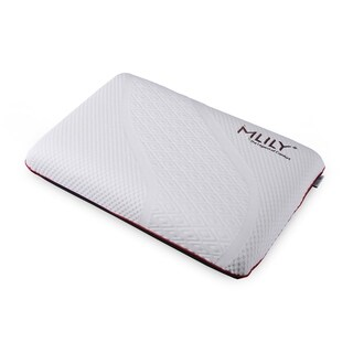 Classic Memory Foam Pillow - Manchester United Performance Collection - WHITE/RED/black