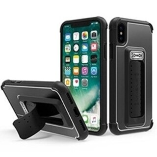 ScoocH Wingman Case for Apple iPhone X - Black - Retail Packaged
