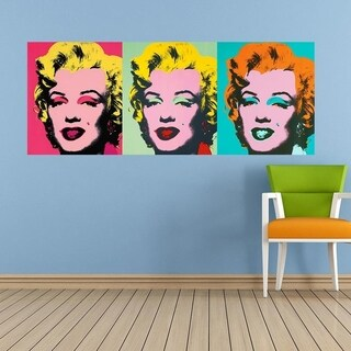 "Monroe Color Wall Decal Sticker AN-38 FRST Size 52""x104"" Multicolor"