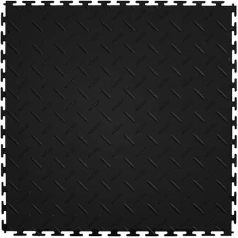 Mats Inc. Protection Garage Interlocking Floor Tiles, Diamond, 8 Pack