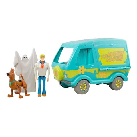 Scooby Doo Mystery Machine and 3 Action Figures Playset