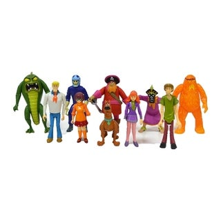 Scooby Doo Action Figure Friends & Foes 10 pack