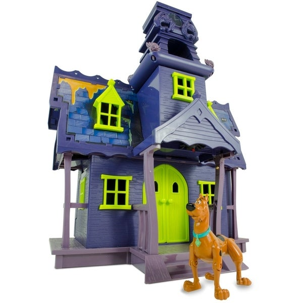 Scooby Doo Mystery Mates Deluxe Playset Mystery Mansion with Goo Turret