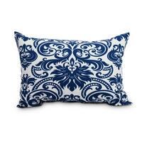 Alexys 14 x 20 inch Blue Floral Decorative  Floral Outdoor Pillow