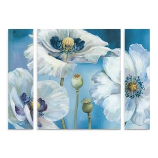 Lisa Audit 'Blue Dance I' Multi Panel Art Set Small