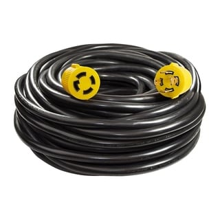 ALEKO Generator Extension Cord 10' ETL Listed 30A 125/250V 10/4 4PIN