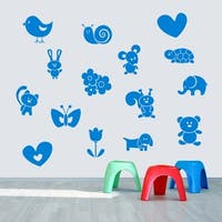 Cute Creatures Wall Decals Wall Stickers