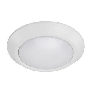 HomeSelects Essential Indoor/Outdoor LED Flush Mount Disk Light