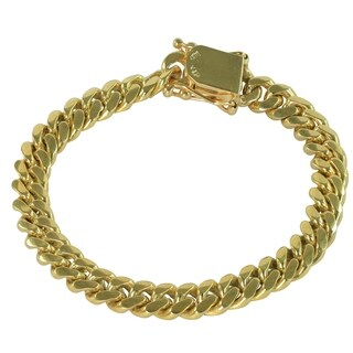 SOLID 14k Yellow Gold 8.5 Inch Miami Cuban Link Bracelet 9 MM , 51.2 Grams