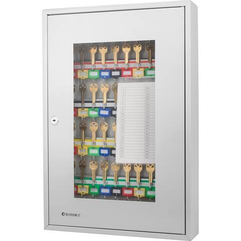 Barska 50 Position Key Cabinet with Glass Door - N/A