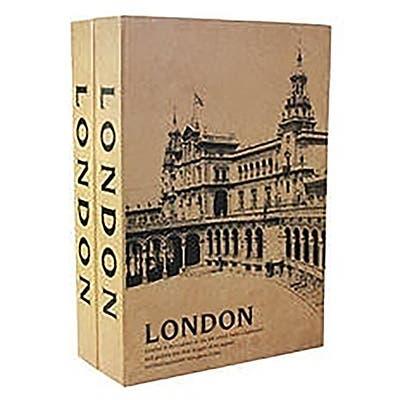 Barska London London Dual Book Lock Box