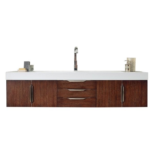 "Mercer Island 72"" Single Vanity, Coffee Oak"