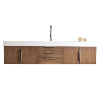 "Mercer Island 72"" Single Vanity, Latte Oak"
