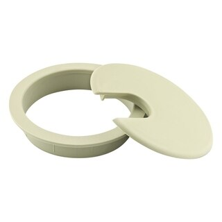 "Rok Hardware Round Grommet, 3"" (76mm) Diameter, Cream"