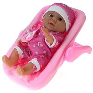 My Little Baby Realistic Baby Toy Doll In Rocker