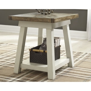 Stownbranner Two-tone Casual End Table