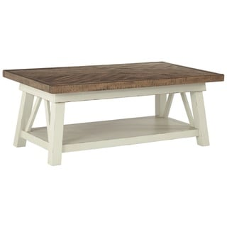 Stownbranner Two-tone Casual Coffee Table