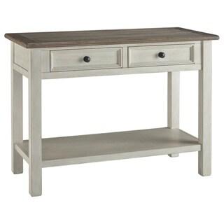 Signature Design by Ashley, Bolanburg Two-tone Casual Sofa Table
