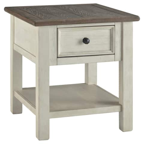 Bolanburg Two Tone Casual End Table