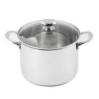 8 Quart Covered Stockpot
