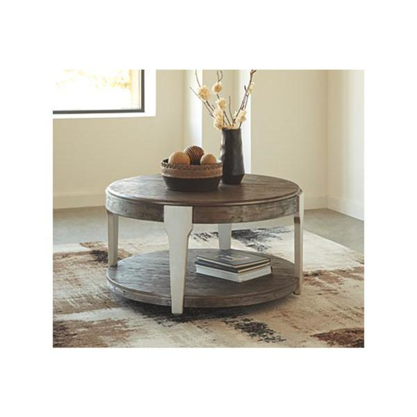 Signature Design by Ashley, Brenzington Contemporary Coffee Table