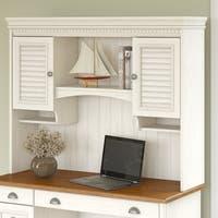 Maison Rouge Allston Hutch for Computer Desk in Antique White