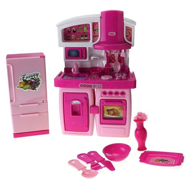 My First Kitchen Toy Playset