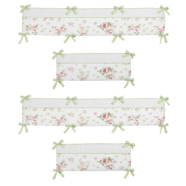 Shop Sweet Jojo Designs Riley S Roses 9 Piece Crib Bedding