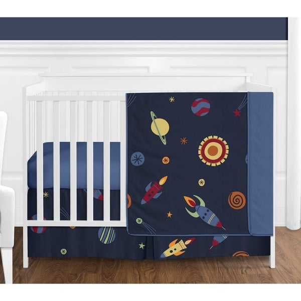 Shop Sweet Jojo Designs Space Galaxy Collection Crib Bed
