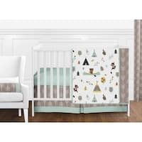 Sweet Jojo Designs Outdoor Adventure Collection 11-piece Bumperless Crib Bedding Set