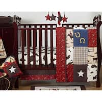Sweet Jojo Designs Wild West Cowboy 11-piece Bumperless Crib Bedding Set