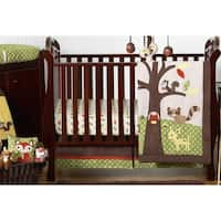 Sweet Jojo Designs Woodland Animal Forest Friends 11-piece Bumperless Crib Bedding Set