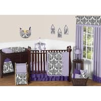 Sweet Jojo Designs 11-piece Bumperless Crib Bedding Set for the Sloane Collection